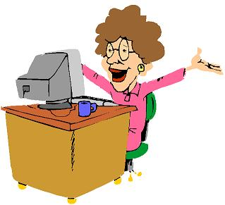 lady-on-computer-cartoon