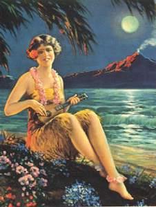 ukulele moon