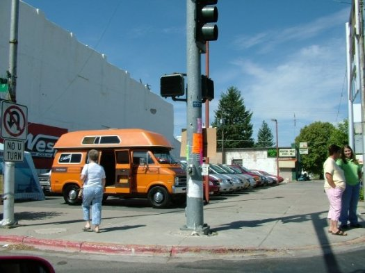 Uncle Rico's van!  I had a hard time with Uncle Rico.  Not my favorite guy.