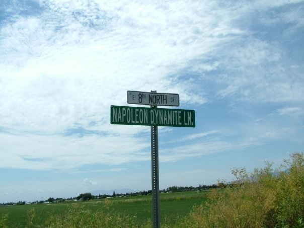 "Here they named a street after him - THE street.... ""What are you gonna do today Napoleon?"" (on the school bus)"