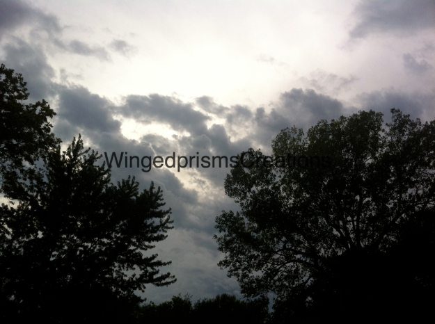 here is the beginning of the storm that ushered in our Autumn