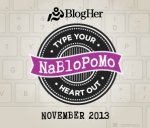 http://www.blogher.com/nablopomo-november-2013-prompts