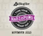 http://www.blogher.com/nablopomo