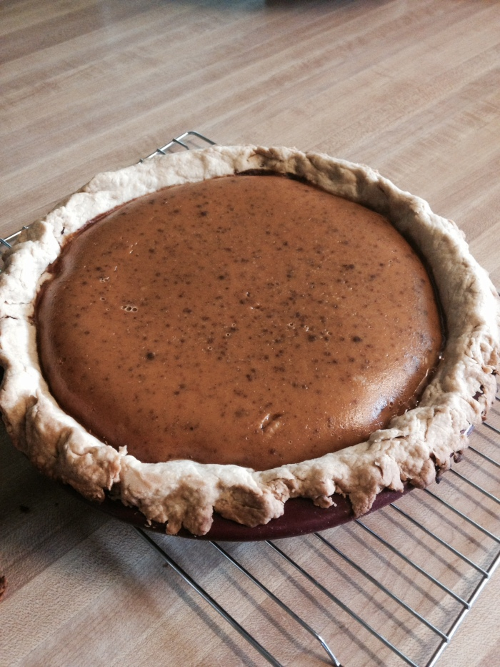 Honey Pumpkin Pie