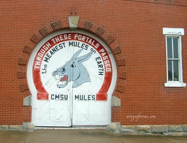 Brick Building - Go UCM Mules!