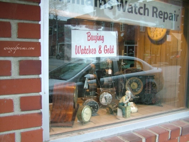 Hmmmm, this must be Mr. Gold's shop (Rumpelstilskin)
