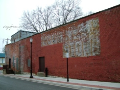 I just love the old brick buildings
