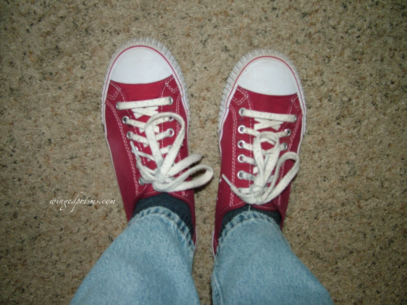 I love my red PF Flyers!
