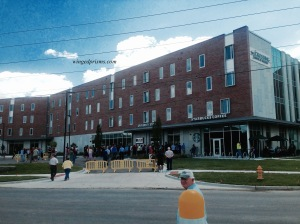New dorms and shops - UCM