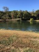 the lake is low - we need rain.