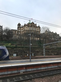 Entering Edinburgh