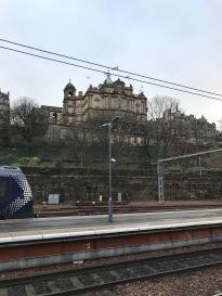 Entering Edinburgh